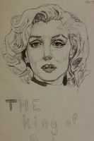 Maryln  Monroe by CharlieJacksonPaine3