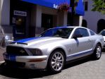 silver Mustang Shelby GT500KR by Partywave