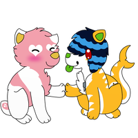 .:RQ:. Kimmi and PinK by DeerNTheHeadlights