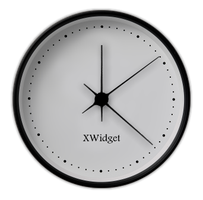 Beauty Confusion Analog Clock for xwidget by jimking
