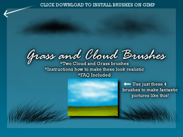 WD's Cloud and Grass Brushes by Wolf-Divide