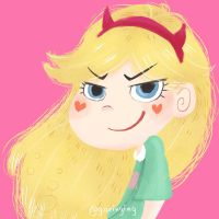 Star Butterfly by garing-ging