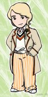 The Fifth Doctor by nuriwan