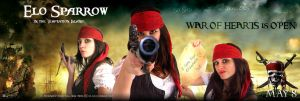 Pirates Caribbean Mrs Sparrow by elodie50a