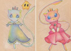 The Princesses of Kanto by Rebellet
