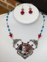 Red girl necklace by xNatje