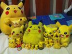My Pikachu Collection by RinnyRobin