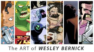 The art of Wesley Benrick by WEB99