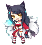 Ahri by xYum-Yumx