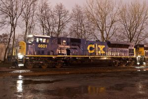 CSX SD80MAC 4601 by sullivan1985