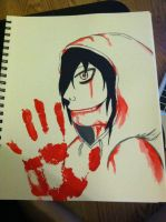 Jeff the Killer by vampyre4life
