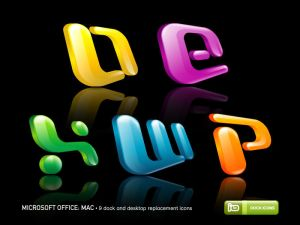 Microsoft Office  Mac by deleket Icon, Icons and more Icons