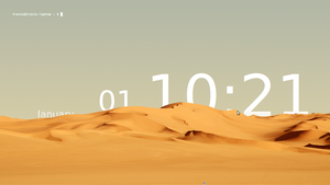 Sands of Time Linux desktop by Flamer-Shaftglutton