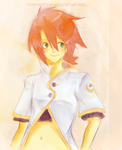 Tales of the Abyss : Luke by Kite-Mitiko