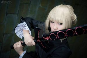 Saber - Fate/Hollow Ataraxia 1 by kiripipapillon
