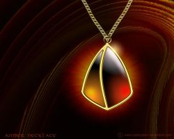 Amber Necklace by PeterPawn