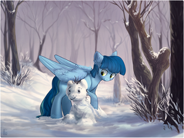 Commission: in winter by LocksTO