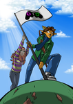 Commission: Gamergate flag by KukuruyoArt