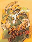 Cow Boy Tiger by mannycartoon