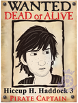 Wanted Dead or Alive Captain Hiccup by Ally-the-Fox-20