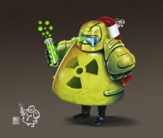 Radiation Guy by muzski