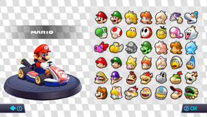 Mario Kart 9 Roster (Fanmade) by Pipsqueak737