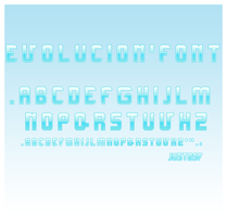 Evolucion.font by justbsf