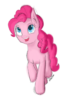 Pinkie Sketch by TheShadowStone