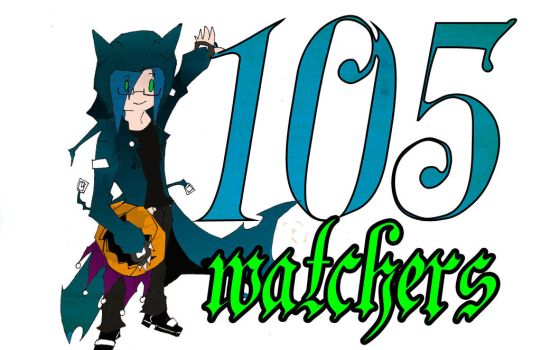 thakns for the 105 watchers by psychoblackcat