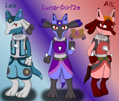 Lunargirl2z (and Leo and Alli) Profile by LunarGirl2z