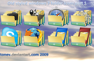 Windows 7 folders 1 by tonev
