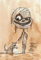 MummyBoy of Tim Burton by BenBASSO