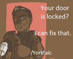 /Yorkfaic - Locked doors? by SlicedKiwi