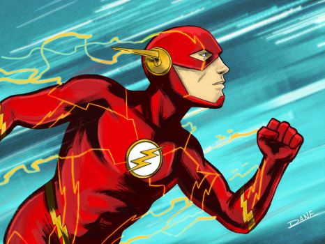 The Fastest Man Alive by theDANEtrain