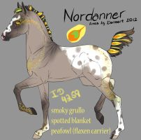 4259 Nordanner foal -designholder- by saphiraly