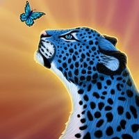 Eyes of the Morpho by BluuLeopard