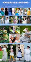 Cosplay Meme 2012 by falketta