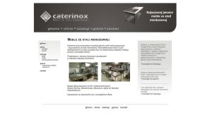 Caterinox website project by michaelblackpl