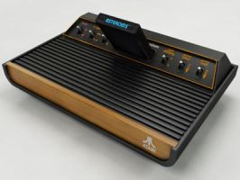 Atari 2600 VCS by PLutonius