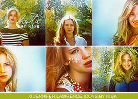 Jennifer Lawrence icons by Aru-Chan94