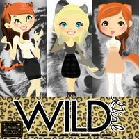 Wild Girls .Png .Psd by iRouges