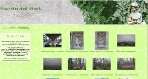 Classical Gardens Gallery CSS by Cat-in-the-Stock