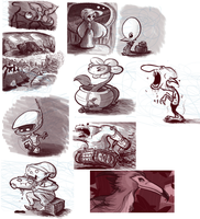 Tumblr Sketchdump by Ric-M