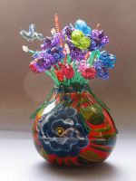 Mixed Bouquet in a Vase by reynaldomolinawire