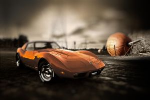 Cinderella's Vette by theCrow65