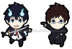 Ao no Exorcist Charms by adventmaromaro