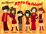Pyro Fashion by MU-Cheer-Girl