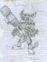 Ratchet and Clank by KendrawD