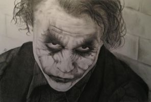 The Joker by DrumToTheHills