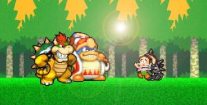 Bowser and Dedede capture Tiff by KingAsylus91